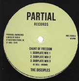 Disciples - Chant Of Freedom Dubplate Mix 1 / 2 / 3 / Armageddon Dubplate Mix 1 /2/ 3 (Partial) 12""